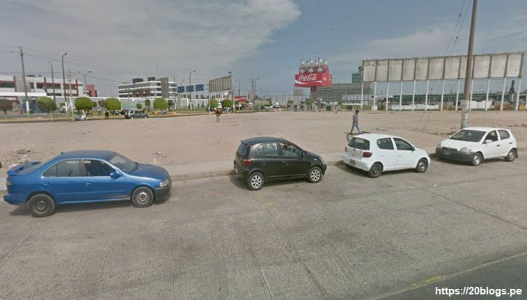 practica de manejo frente al aeropuerto jorge chavez
